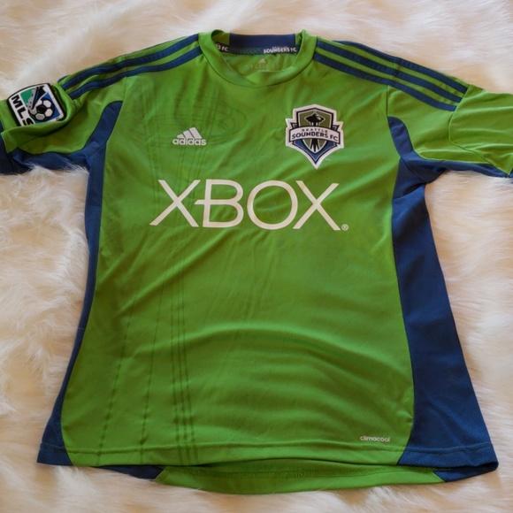 buy online c6ce3 cff52 Seattle Sounders jersey